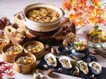 9月1日~『秋の味覚てんこ盛り!欲張り2種のステーキと牡蠣づくしバイキング』を開催!