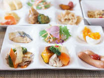 【Organic】素材にこだわった健康朝食をたくさんお召し上がり下さいませ