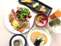 神戸らしい洋食中心の朝食ブッフェ