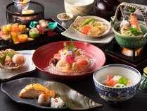 ご夕食は日本料理「茜会席」をご用意いたします。(画像はイメージです)