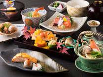 ご夕食は日本料理「雫会席」をご用意いたします。(画像はイメージです)