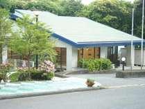 センター館にはフロント・レストラン・大浴場がございます。