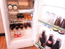 部屋の冷蔵庫の一例