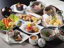 政竜じゃプラン料理例 豪華ボリューム満点日本海の幸