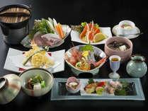 お手ごろ価格の日本海の幸を使った料理