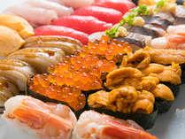 寿司のネタは日替わり♪ミニ会席と共にお楽しみください♪