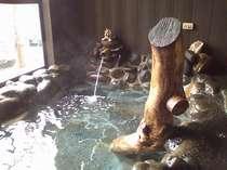 手造り岩風呂「ととりの湯」定員6名様以上より入浴可