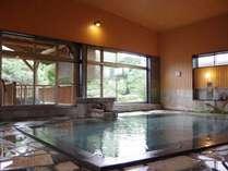 【松の湯大浴場】平成29年9月新装。硫酸塩泉のお湯はやわらかでしっとり。