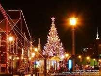 赤レンガ倉庫群前で「はこだてクリスマスファンタジー」開催!