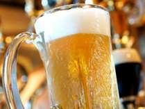 かんぱ~い!温泉の後のビールは最高!