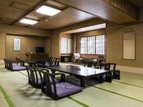 18畳以上の大部屋は、8名様までご宿泊いただけます。