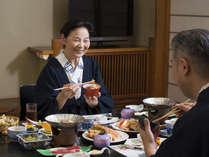 【お部屋食イメージ】お部屋でゆっくりお食事をお召し上がり頂けます。