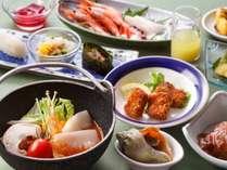 【ザ・キャビン夏】夕食 道南食材をふんだんに使ったオリジナル料理を召し上がれ
