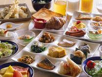 【バイキング・朝食イメージ】元気の出る朝ごはんを召し上がれ