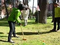 ≪スポーツ施設≫グラウンドゴルフ※イメージ