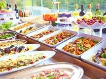 【夕食】ディナーバイキング/全30種類のビュッフェをお愉しみください♪※イメージ