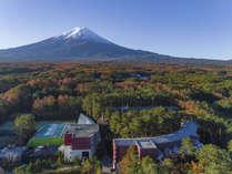 【全景】富士の麓に位置する高原リゾート!~紅葉~※イメージ