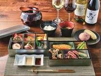 【夕食】わんヴィレッジにお泊りのお客様限定♪特製ディナーBOX※イメージ