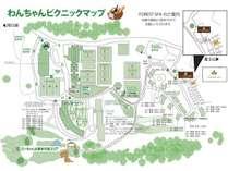 【わんちゃんピクニックマップ】わんちゃんとのお散歩にご参考ください♪