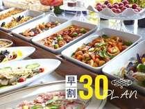 【早割プラン】早期予約がお得♪オンラインカード決済&30日前までのご予約で2食付がお得※イメージ