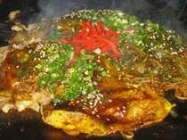【郷土料理】広島風お好み焼きは瀬戸内処「凪」でご賞味いただけます