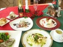 【洋食】クリスマス特別ディナーコース料理のイメージ
