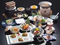 【和食】牡蠣会席一例