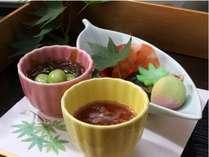 【和食】前菜一例(季節により変わります)