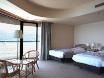 【メゾネットスィート】2F寝室