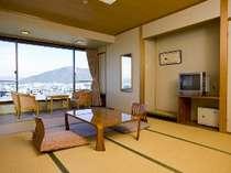 和室10畳 長良川を一望