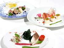 レギュラーコース、お魚をお選びの場合のご夕食内容です(2/4~ 3/17までのメニューとなります)