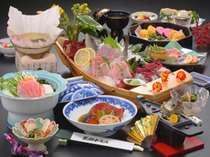 下田名物!金目鯛づくしのお料理(一例)