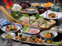 金目鯛料理(一例)