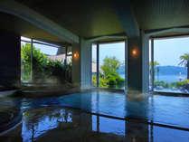 ■海原の湯■ ほど良い湯加減と、美しい眺めに癒されながらゆったりと♪