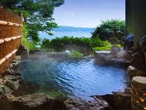 ■お離れ:客室露天風呂■ 他室と隔絶された離れ湯はあなただけの貸切露天♪