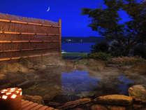 ■貸切露天風呂:毘沙子-MISAGO-■ 空の群青と海の蒼に吸い込まれるような、絶景を♪