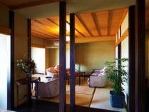 ■湯上り処:黒船茶屋■ 3種の『下田SPA』と『エステルーム』を繋ぐ休憩所♪