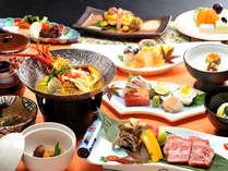 """■伊勢海老ブイヤーベース&和牛陶板ステーキコース■じっくり煮込んだ""""濃厚海鮮スープ""""に大満足♪"""
