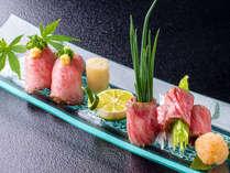 ■A5国産牛握り■ 『本当に美味しいお肉は、握りで』 舌にのせれば蕩けだす♪