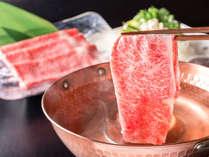 ■A5国産牛しゃぶしゃぶ■ 食べごたえ十分!上質の脂がお鍋に溶け出します♪