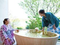 【絶対おすすめ】3種類の貸切露天風呂が大好評♪
