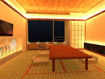 ※完成イメージ※★2017年12月リニューアル客室★『The茶室』~下田湾を眺める【近代茶室】~
