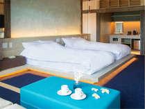 ■離れ 温石■お風呂でゆっくり暖まった後は、ふかふかのベッドでおやすみ。波音が誘う眠りの世界へ