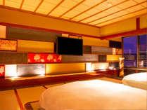 日本人が古くから親しんでいる、畳みと障子の純和室。平安的な和の空間を現代調にアレンジ!