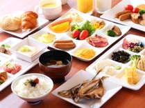 大人気☆和洋約40種類の朝食バイキング♪