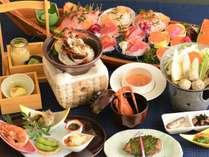 新鮮な地魚のお造り盛合せ!匠の技と創意あふれる和会席☆味覚満載!