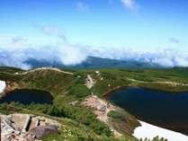 旭岳ならではの景観は一見の価値あり。