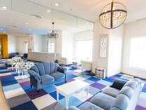 ◆海のリゾートを意識した内装◆ ビジネスでも観光でも幅広くご利用いただけます☆