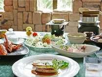 鮑と伊勢海老料理の特選ディナー