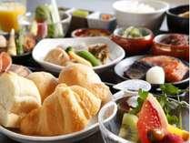 【朝食】種類豊富な朝食バイキング(イメージ)